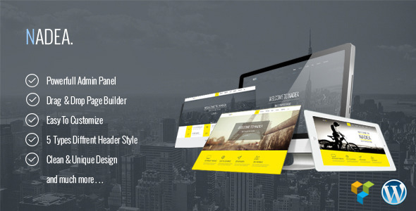Nadea – Responsive Multi-Purpose WordPress Theme