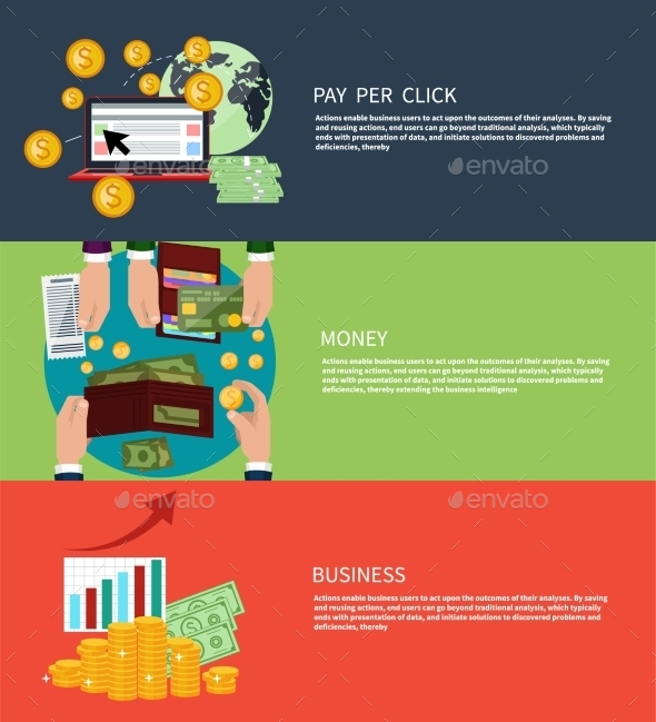 Business Money And Pay Per Click - Concepts Business