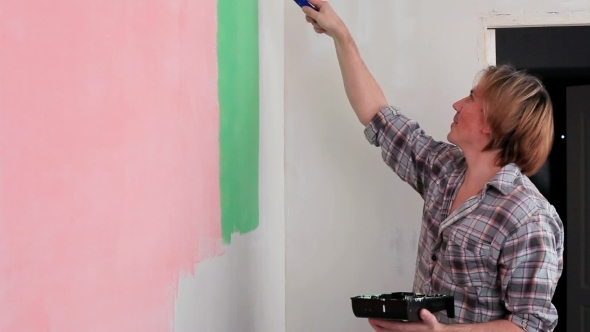 Handyman Painting Wall