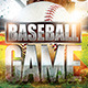 Baseball Game Flyer - GraphicRiver Item for Sale