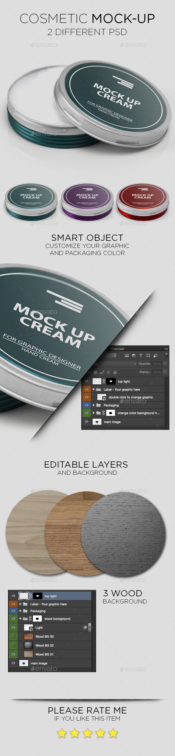 Cosmetic Cream Mock-Up - Beauty Packaging