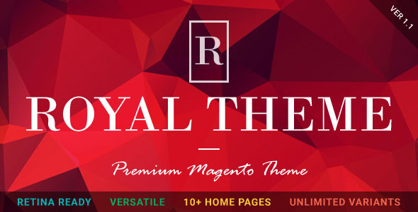 ROYAL – Fluid Responsive Magento Theme
