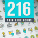 Set of Thin Line Icons for Online Education - GraphicRiver Item for Sale