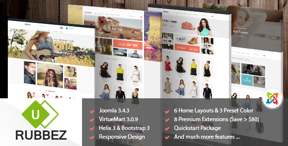Rubbez – Responsive Multipurpose Joomla Template