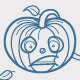 Halloween Pumpkin Emotions  - GraphicRiver Item for Sale