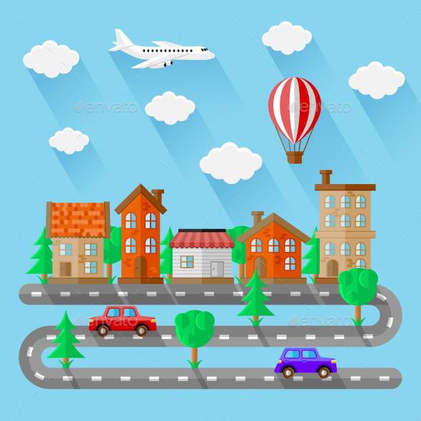 City Landscapes - Travel Conceptual