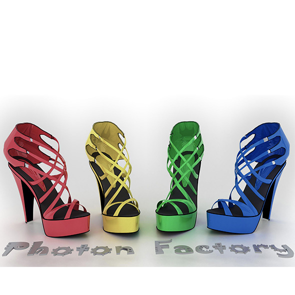 Ladies Heel - 3DOcean Item for Sale