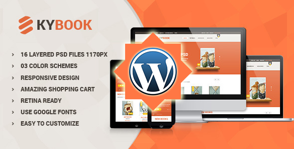 KyBook – Responsive eCommerce WordPress Theme