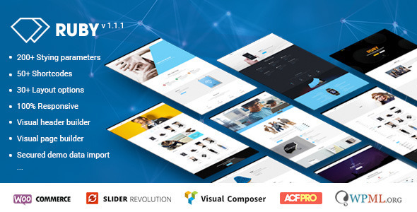Ruby – WordPress Theme for Business and Portfolio