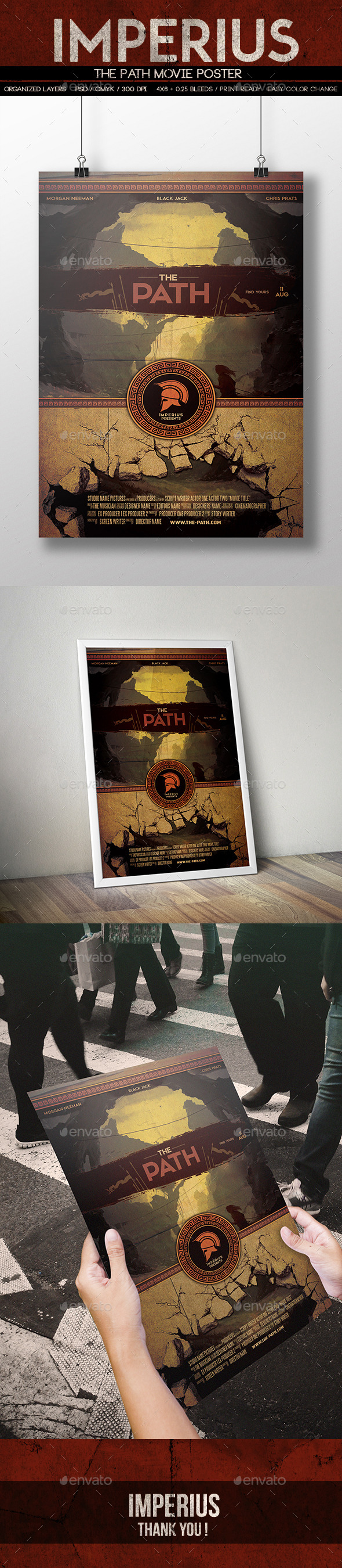 The Path Poster - Miscellaneous Print Templates