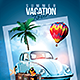 Summer Vacation Tour - GraphicRiver Item for Sale