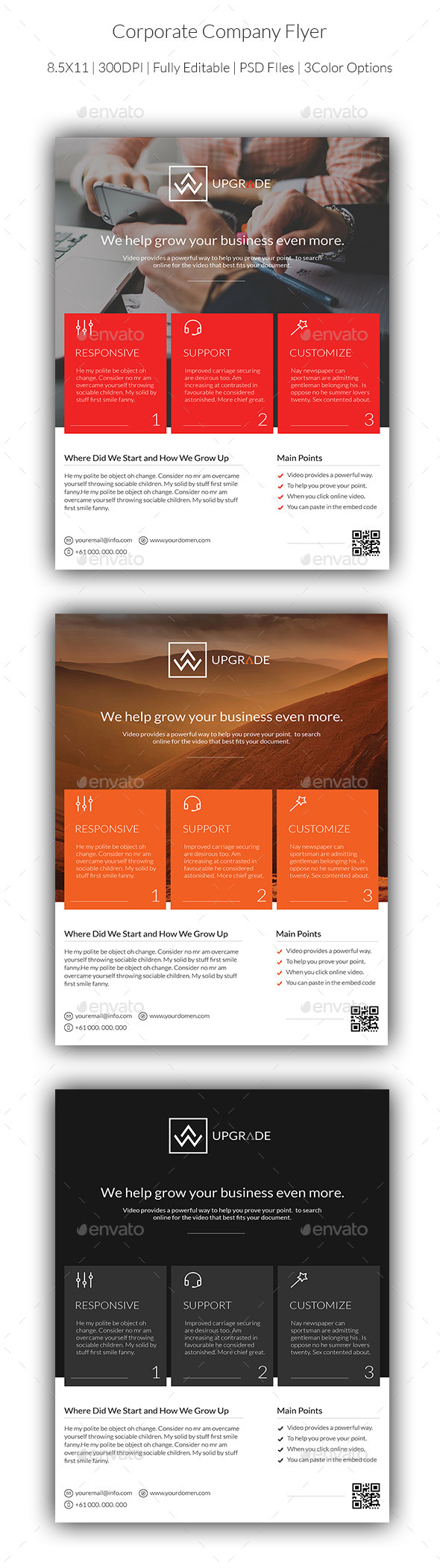 Corporate Company Flyer - Corporate Flyers