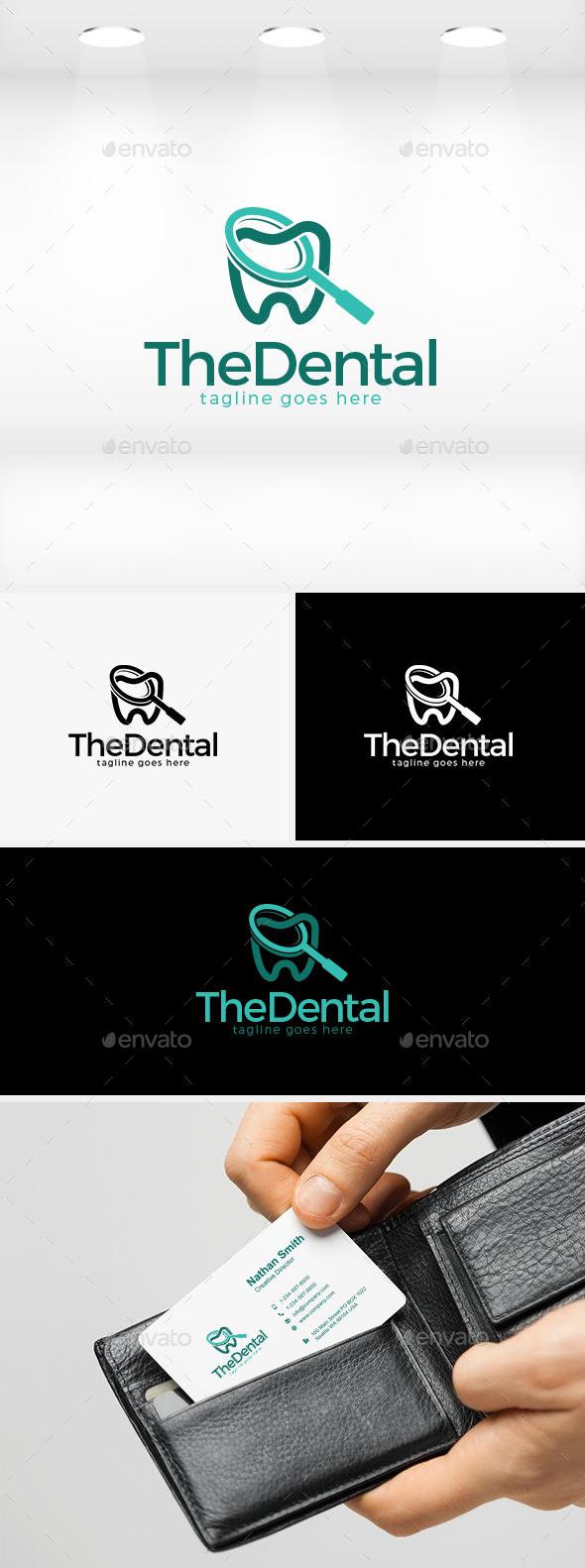 The Dental Logo - Objects Logo Templates