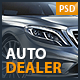 Auto Dealer - Car Dealer PSD Template Nulled