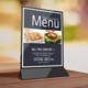 Restaurant Table Tent / Menu - GraphicRiver Item for Sale