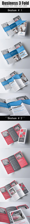 Tri Fold Business Brochure Bundle - Corporate Brochures