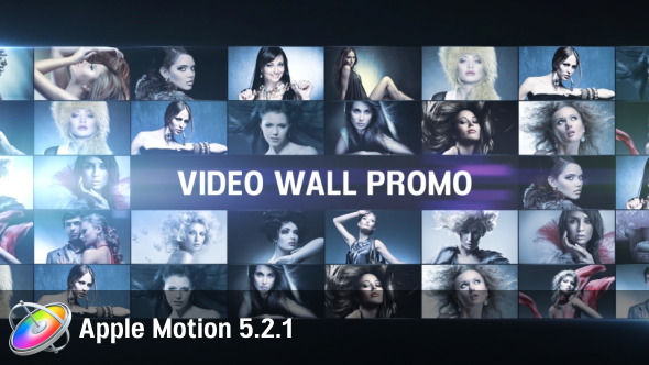 Video Wall Promo Apple Motion