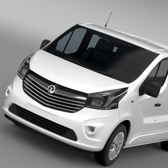 Vauxhall Vivaro Biturbo 2015 - 3DOcean Item for Sale