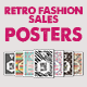 Retro Fashion Sales - Posters - GraphicRiver Item for Sale