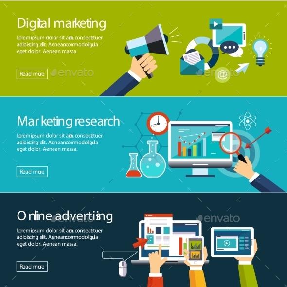 Management Digital Marketing Srartup Planning - Business Conceptual