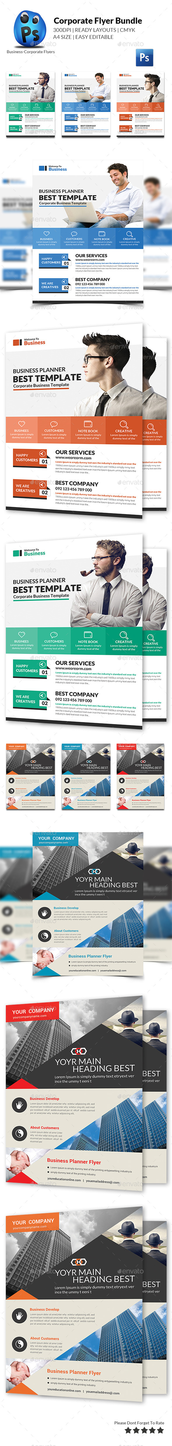 Corporate Business Flyer Template - Corporate Flyers