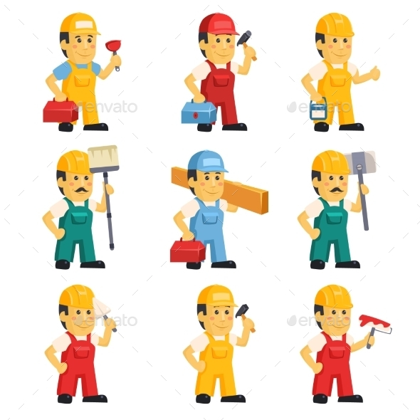 Technician , Working a Set Of People  - Concepts Business