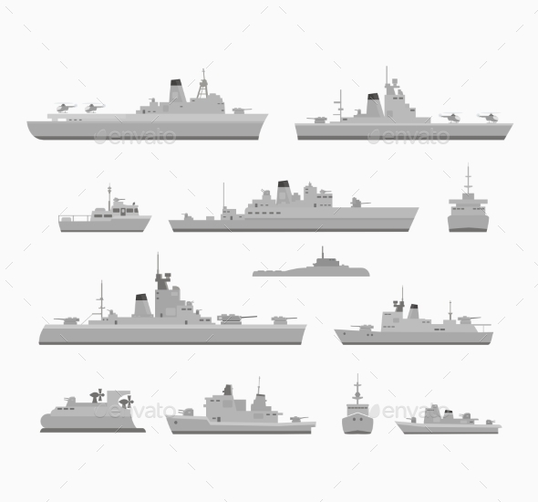 Warships - Travel Conceptual