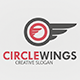 Circle Wings Logo Template - GraphicRiver Item for Sale