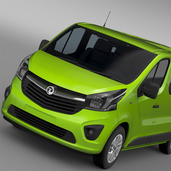 Vauxhall Vivaro EcoFlex 2015 - 3DOcean Item for Sale