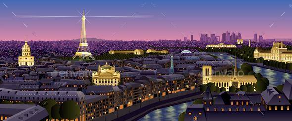 Paris - Landscapes Nature