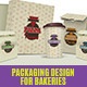 Packaging Design For Bakeries - GraphicRiver Item for Sale