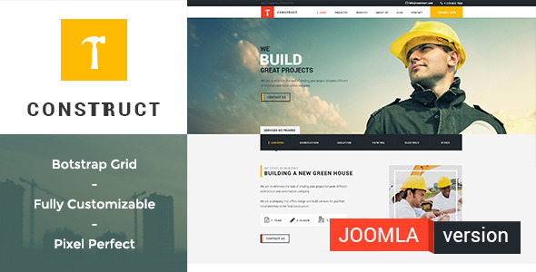 Construct | Building and Construction Template