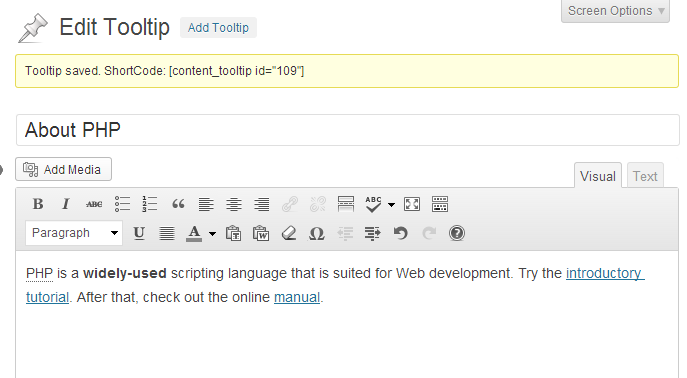 Bootstrap Mouseover Tooltip | PhpSourceCode.Net