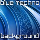 Blue Techno 3D Background - VideoHive Item for Sale