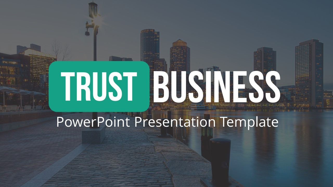 trust business powerpoint presentation templatespriteit, Presentation templates