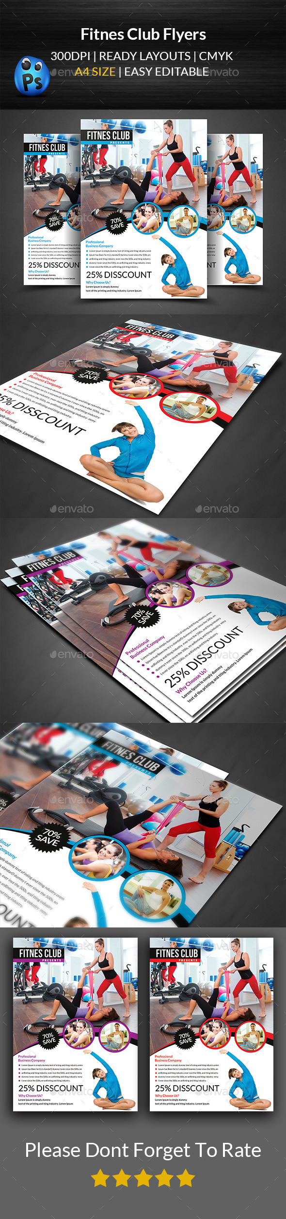 Fitness Flyer Templates - Corporate Flyers