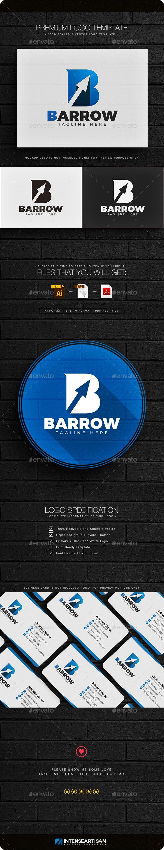 Barrow - Letter B Logo - Letters Logo Templates