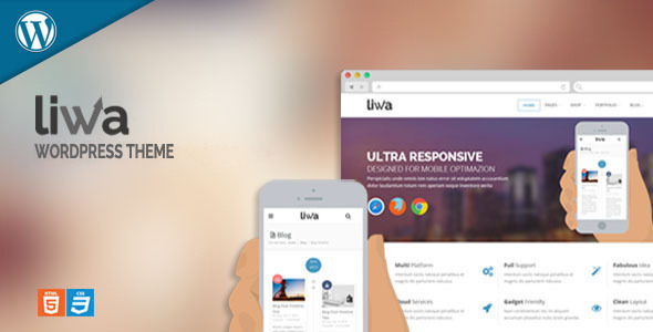 Liwa MultiPurpose Wordpress Theme - Corporate WordPress