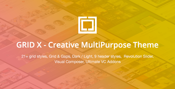 GRID X – Creative MultiPurpose Theme