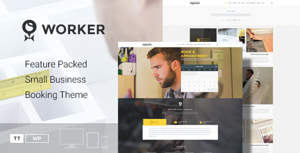 Worker – Small Business Booking Theme