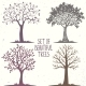Trees Set - GraphicRiver Item for Sale