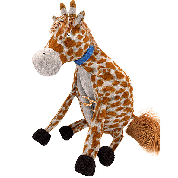 Giraffe Pillow Plush Toy - 3DOcean Item for Sale