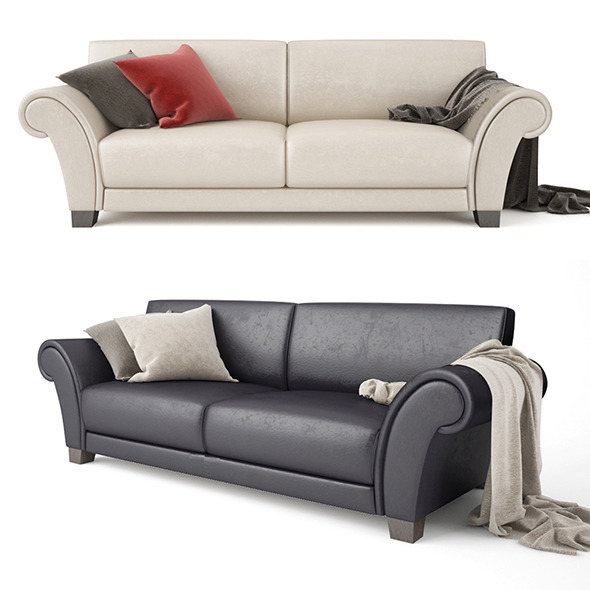 Sofa Loveseat - 3DOcean Item for Sale