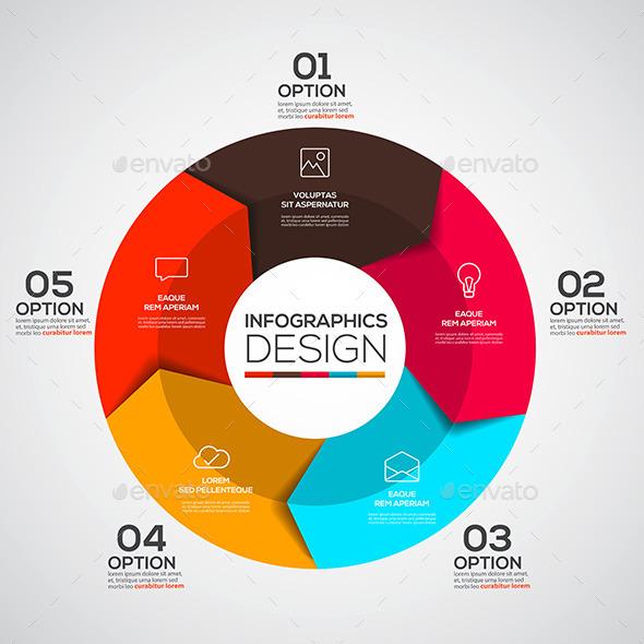 Modern Design Minimal Infographic - Infographics