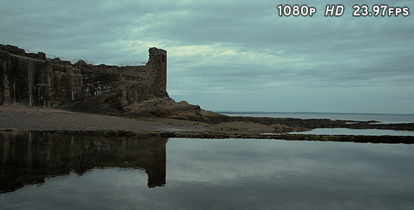 Scotland Ruined Castle Reflections