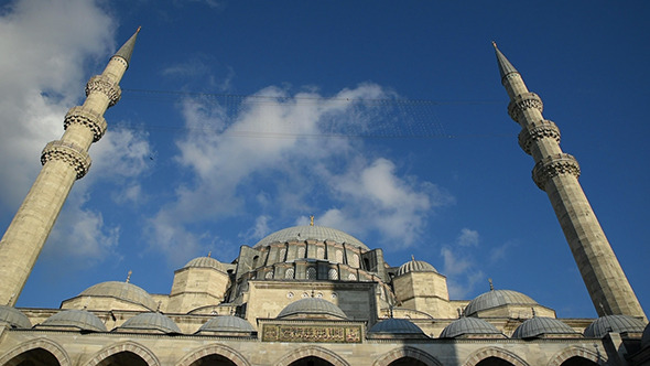 The Suleymaniye Mosque at Istanbul 1