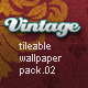 Vintage Tileable Wallpaper Pack 02 - GraphicRiver Item for Sale
