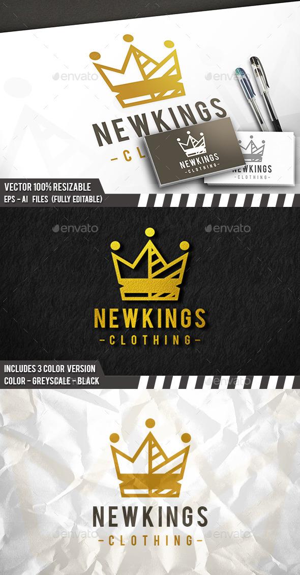 King Crown Logo - Symbols Logo Templates