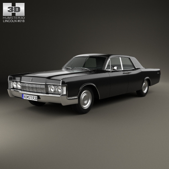 Lincoln Continental sedan 1968 - 3DOcean Item for Sale