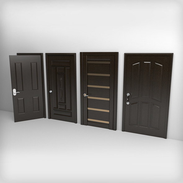 Doors Pack - 3DOcean Item for Sale
